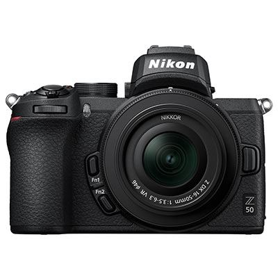 Nikon Z50 Digital Camera with 16-50mm Lens and FTZ Adapter