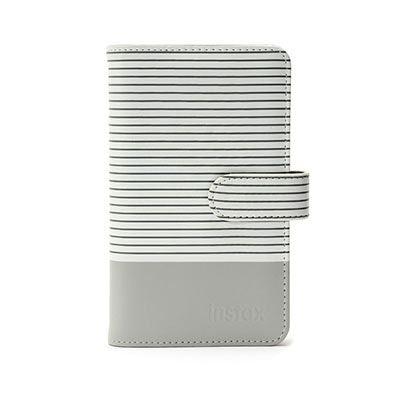 Fujifilm Instax Striped Mini Album - Smokey White