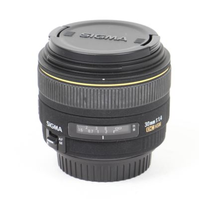 Used Sigma 30mm f1.4 EX DC HSM Lens - Canon Fit