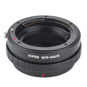 Kipon Lens Adapter - Nikon F-Mount Lens (G) to Micro Four Thirds Body MF