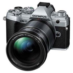 Olympus OM-D E-M5 Mark III Digital Camera with 12-200mm Lens - Silver