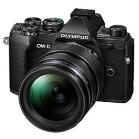 Olympus OM-D E-M5 Mark III Digital Camera with 12-40mm Lens - Black