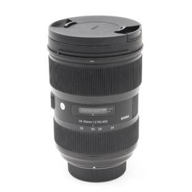 Used Sigma 24-35mm f2 DG HSM Art Lens - Nikon