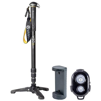 Vanguard VEO 2S AM-264TR Aluminium Monopod With Tri-Feet