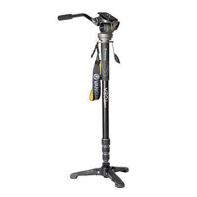 Vanguard VEO 2S AM-264TV Aluminium Monopod With Tri-Feet and Video Head
