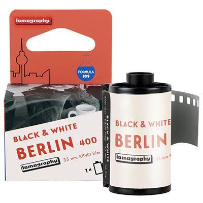 Image of Lomography Berlin Kino B+W ISO 400 135 film