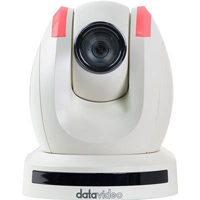 Image of Datavideo PTC-150TLW PTZ Camera (White) for use with HS-1500T and HS-1600T