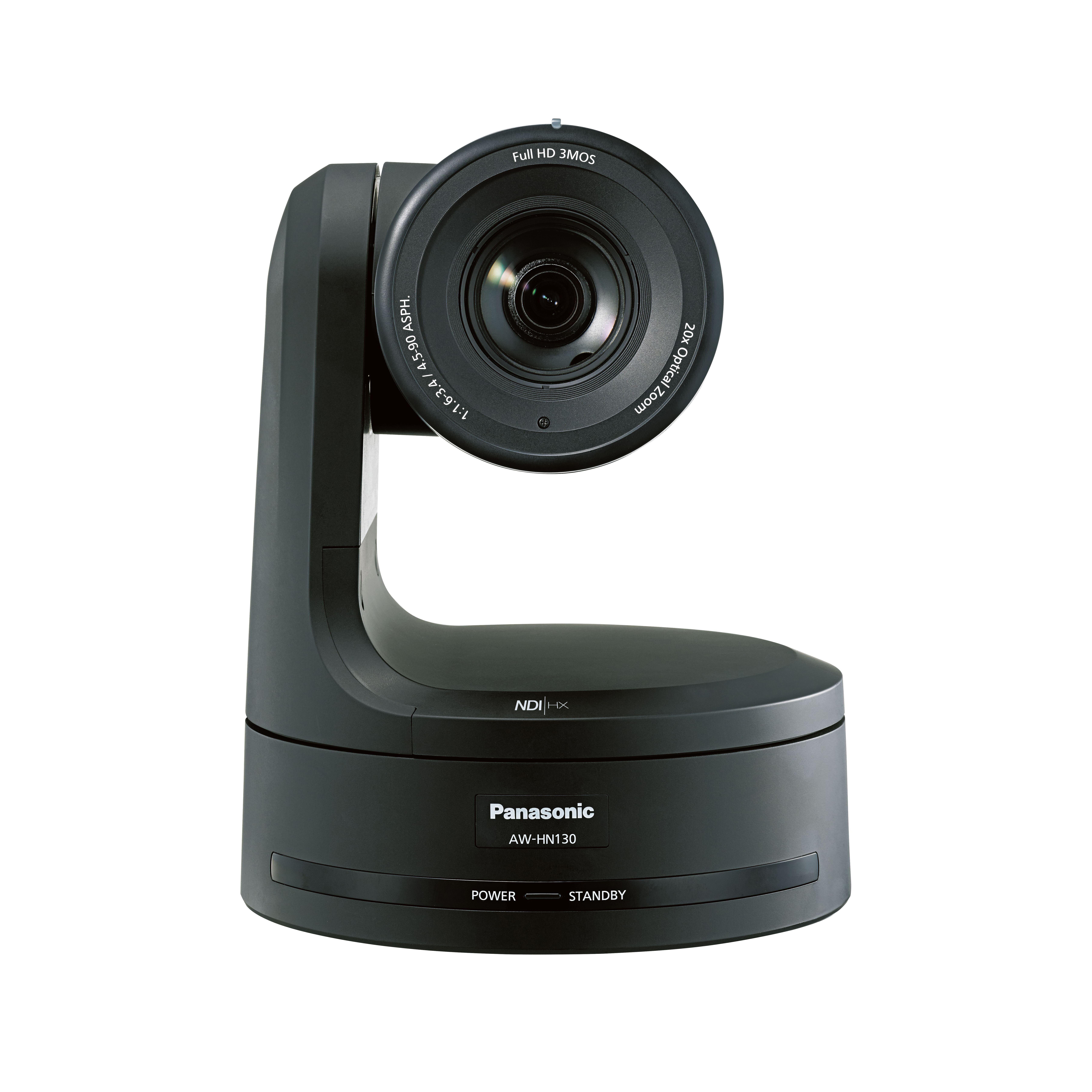 Image of Panasonic AW-HN130KEJ 1/3 HD Integrated Camera with NDI (Black)