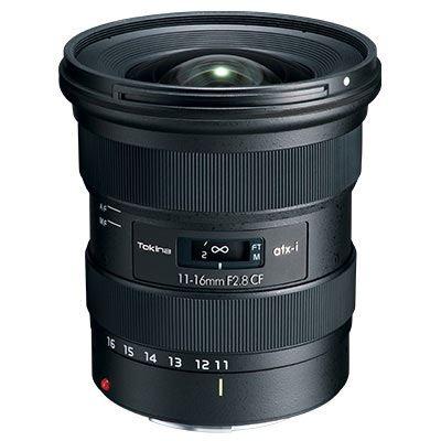 Tokina atx-i 11-16mm f2.8 CF Lens - Canon EF-S Fit