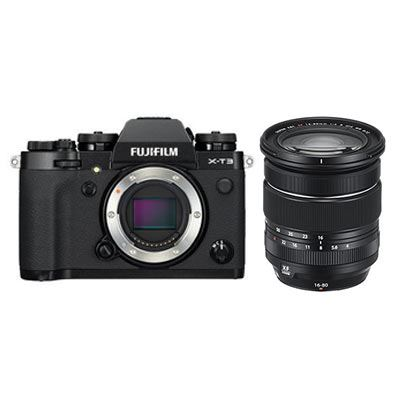 Fujifilm X-T3 Digital Camera with XF 16-80mm Lens - Black