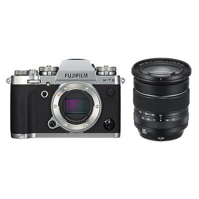 Fujifilm X-T3 Digital Camera with XF 16-80mm Lens - Silver