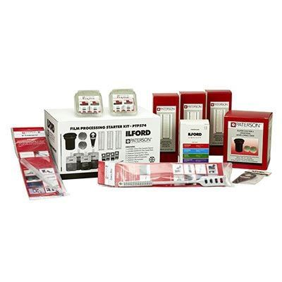 Ilford and Paterson Film Processing Starter Kit