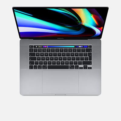 Apple MacBook Pro 16-inch Touch Bar - 2.6Ghz 6-Core (9thGEN) i7 Processor, 512GB - Space Grey