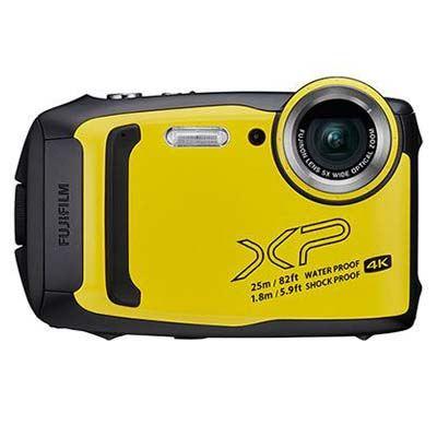 Image of Fujifilm FinePix XP140 Digital Camera - Yellow
