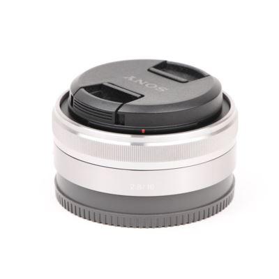 Used Sony E 16mm f2.8 Pancake Lens