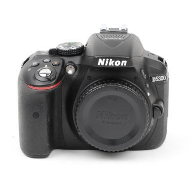 Used Nikon D5300 Digital SLR Camera Body - Black