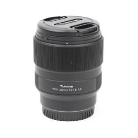 Used Tokina Firin 20mm f2 AF Lens - Sony E-Mount