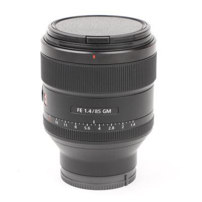Used Sony FE 85mm f1.4 G Master Lens