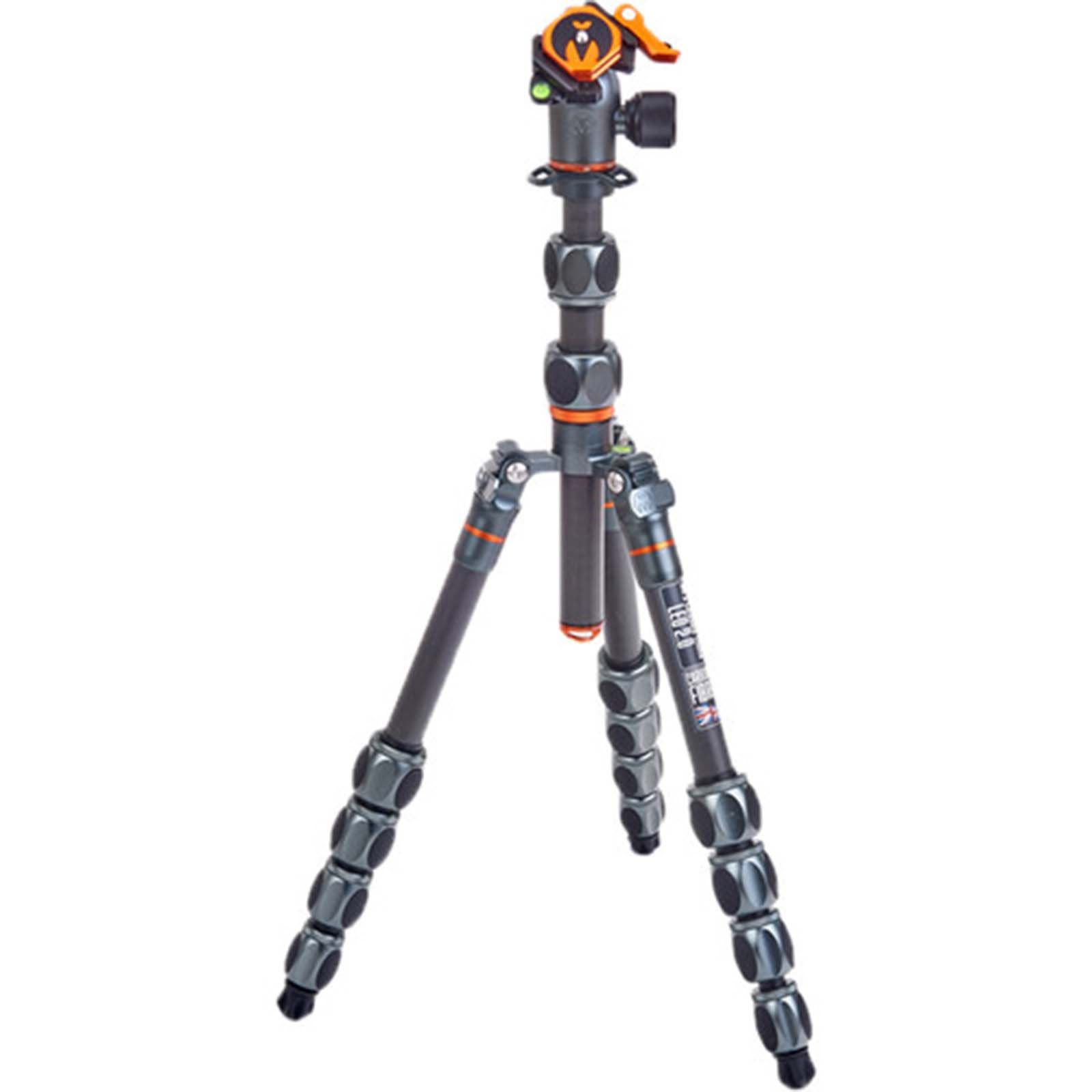 Image of 3 Legged Thing Pro 2.0 Leo Carbon Fibre Tripod + AirHed Pro Lever - Grey