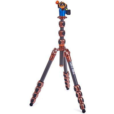 Image of 3 Legged Thing Pro 2.0 Albert Carbon Fibre Tripod + AirHed Pro - Bronze