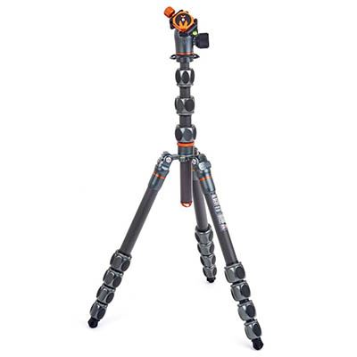 Image of 3 Legged Thing Pro 2.0 Albert Carbon Fibre Tripod + AirHed Pro - Grey