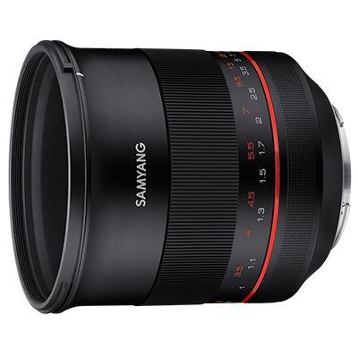 Samyang XP 85mm f1.2 Lens - Canon EF Fit