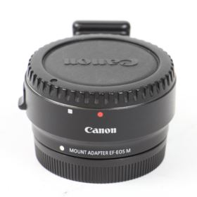 Used Canon EF-EOS M Mount Adapter with Removable Tripod Mount