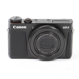 Used Canon PowerShot G9 X Mark II Digital Camera - Black