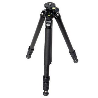 Used Calumet CK8210 4-Section Carbon Fibre Tripod with 90 Degree Mount