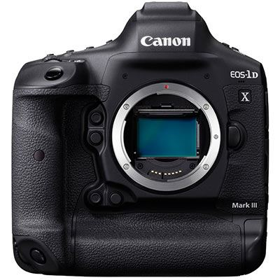 Canon EOS-1D X Mark III Digital SLR Camera Body
