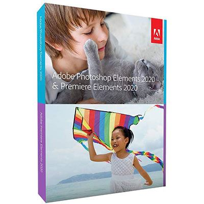 Image of Adobe Photoshop and Premiere Elements 2020