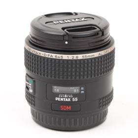 Used Pentax 55mm f2.8 SMC D-FA 645 Mount Lens