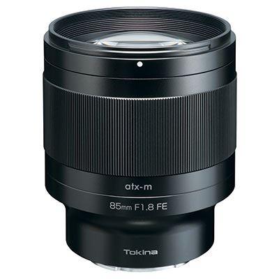 Tokina 85mm f1.8 ATX-M FE Lens - Sony E Fit