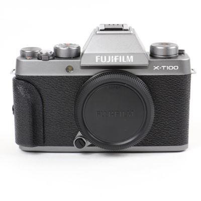 Used Fujifilm X-T100 Digital Camera Body - Dark Silver