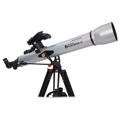 Image of Celestron StarSense Explorer LT 80AZ App-Enabled Refractor Telescope