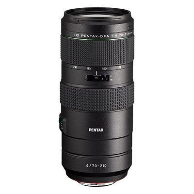 Pentax 70-210mm f4 ED D-FA HD SDM WR Lens