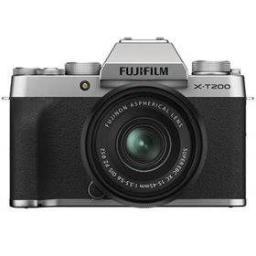 Fujifilm X-T200 with XC 15-45mm Lens - Silver