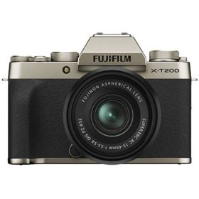 Fujifilm X-T200 with XC 15-45mm Lens - Champagne Gold