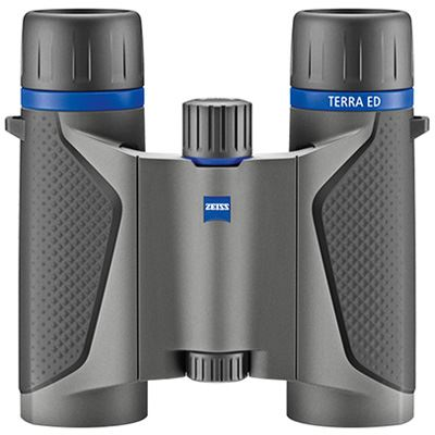 Zeiss Terra ED Pocket T* 10x25 Binoculars - Grey