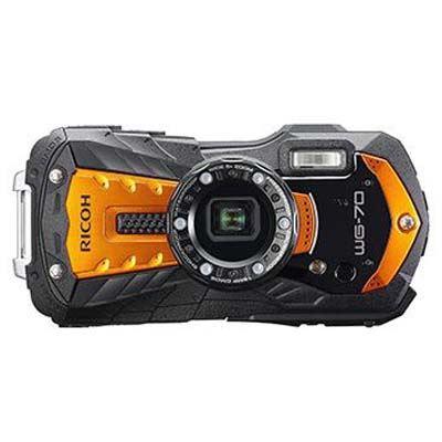Ricoh WG-70 Digital Camera – Orange