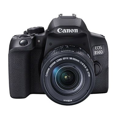 Image of Canon EOS 850D Digital SLR Camera with 18-55mm IS STM Lens