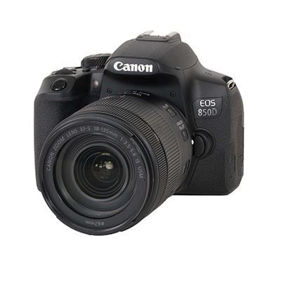 Image of Canon EOS 850D Digital SLR Camera with 18-135mm IS USM Lens