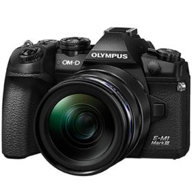 Olympus OM-D E-M1 Mark III with 12-40mm PRO Lens