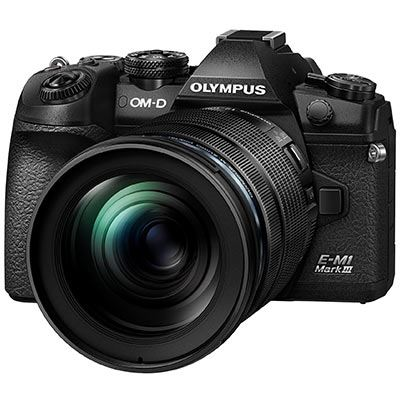 Olympus OM-D E-M1 Mark III Digital Camera with 12-100mm PRO Lens