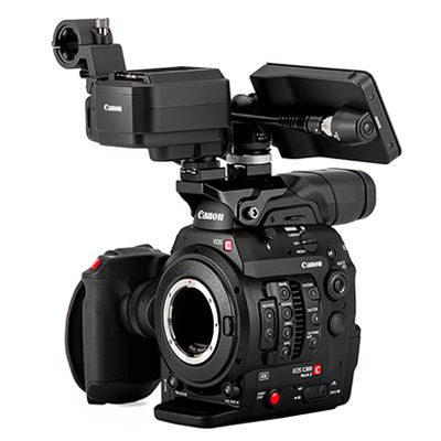 Image of Canon EOS C300 Mark II 4K Camcorder Touch Focus Kit