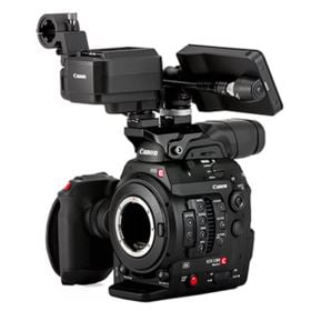 Canon EOS C300 Mark II 4K Camcorder Touch Focus Kit