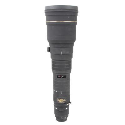 Used Sigma 300-800mm f5.6 EX DG APO HSM Lens - Nikon Fit