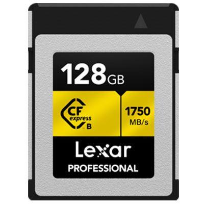 Image of Lexar 128GB Professional Type B CFexpress (1750MB/Sec) Memory Card