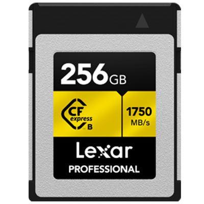 Image of Lexar 256GB Professional Type B CFexpress (1750MB/Sec) Memory Card