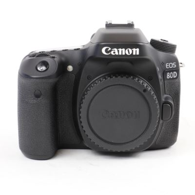 Used Canon EOS 80D Digital SLR Camera Body